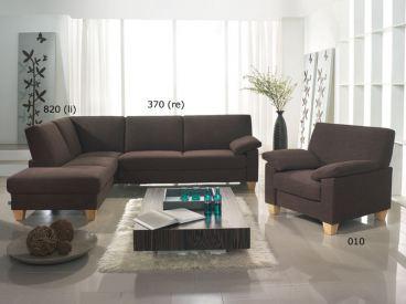 ewald schillig florenz ecksofa sofa 3 sitzer armlehne anbausofa mit hocker ebay. Black Bedroom Furniture Sets. Home Design Ideas