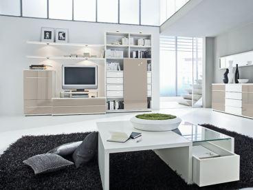 loddenkemper kito 9792 wohnwand wandbord sideboard anbauelemente holz schiebet r ebay. Black Bedroom Furniture Sets. Home Design Ideas