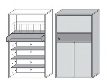 wittenbreder muchele merano garderobe mehrzweck schrank 311 f r flur diele ebay. Black Bedroom Furniture Sets. Home Design Ideas