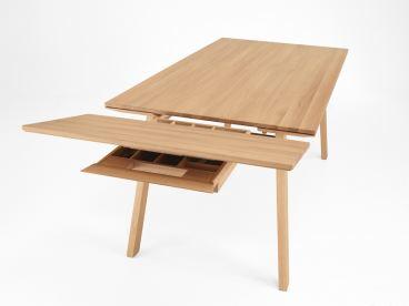Designtisch Esstisch Massivholz Mit Vielen Funktionen