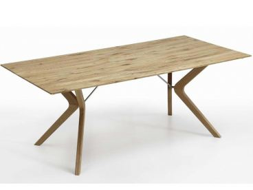 Niehoff Bozen Esstisch Design Tafel Eiche Massivholz Mit Ansteckplatten