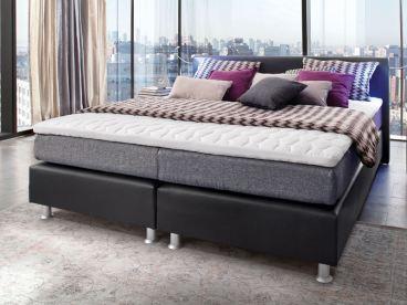 boxspringbett schwarz 180x200, belcanto boxspringbett luxus liegefläche 180x200 cm günstig kaufen, Design ideen