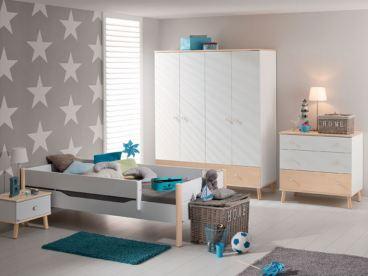 Paidi Etagenbett Ylvie 160 : Kinderzimmer paidi ylvie 3 teilig in weiß birke nachbildung erweiterbar