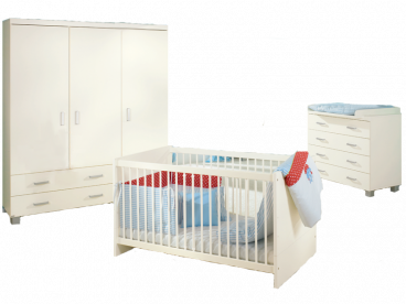 Biancomo Paidi 3 Teiliges Babyzimmer