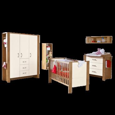 Paidi Henrik Komplettes Babyzimmer In Eiche Nachbildung