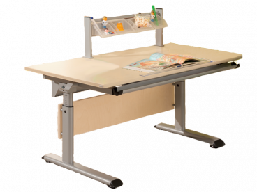 Schoolworld Marco 2 140 Schreibtisch in Birke Multiplex