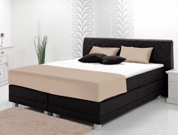 breckle rio bett boxspringbett mit motor tfk matratze unterbau bonnellfederkern ebay. Black Bedroom Furniture Sets. Home Design Ideas