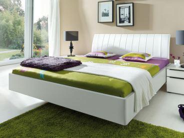 Nolte Sonyo Bett Doppelbett Schwebeoptik mit Polster-Rückenlehne ...