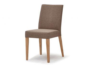 Schösswender Ontario Stuhl 200 ohne Armlehnen mit Polsterung und wählbarem Bezug mit Holzgestell in wählbarer Ausführung