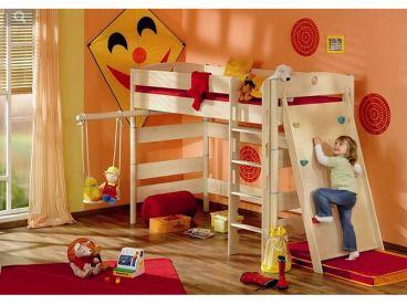 Etagenbett Paidi Fleximo 155 : Kinderbett fleximo paidi spielbett mit griffleiter und kletterwand