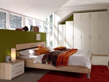 Priess Varia, Schlafzimmer, Bett, Kleiderschrank, Aufsatz ...
