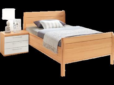 Disselkamp Linea plus Einzelbett mit Nachtkonsole