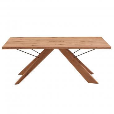 Tisch mit Metallgestell in Längsrichtung stabil? | woodworker