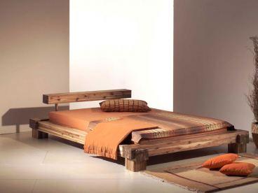 neue modular bett cali futonbett akazie massiv schlafzimmer