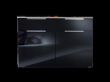 Rauch Steffen Linea Concept Kommode In Schwarz Mit Beleuchtung