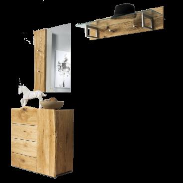 Skalik Meble Woodline Garderobenkombination Individuelle Baumkante
