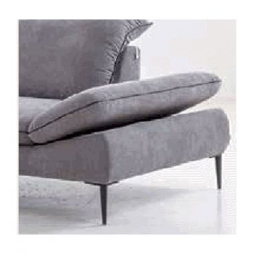 Willi Schillig Sofa In Grey Mit Longchair Links Modernes Design