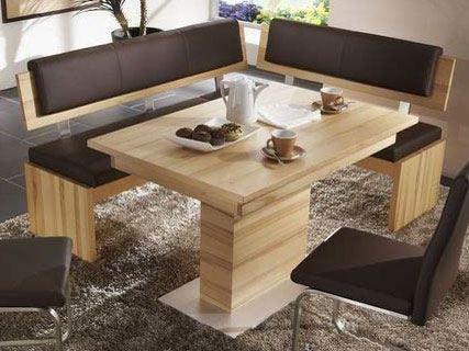 Niehoff Nina Eckbank Für Essgruppe Speisezimmer Sitzbank Esszimmer Bezug  Echt Leder Brasil Farbe Und Größe Wählbar