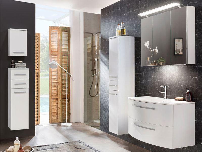 W. Schildmeyer Möbel im Set 5-teilig für Badezimmer mit Waschtisch ...