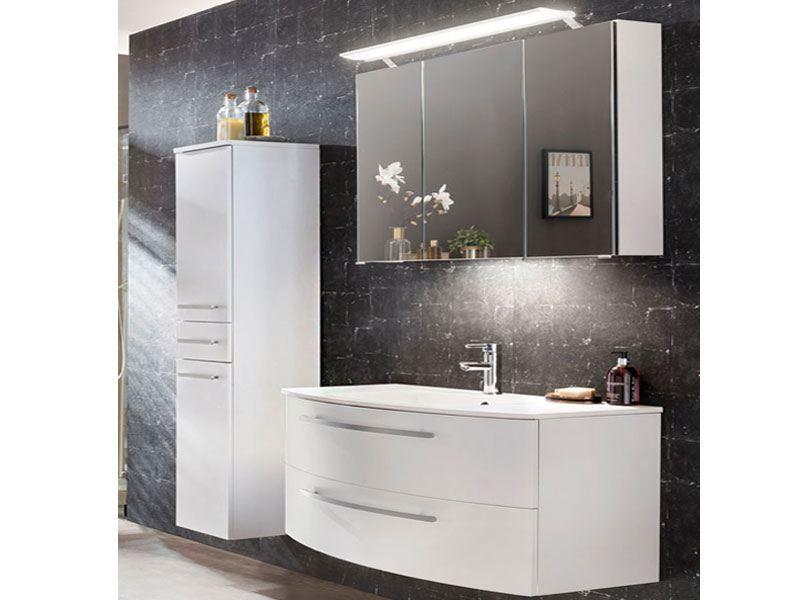 W. Schildmeyer Möbel im Set 3-teilig für Badezimmer mit Waschtisch ...