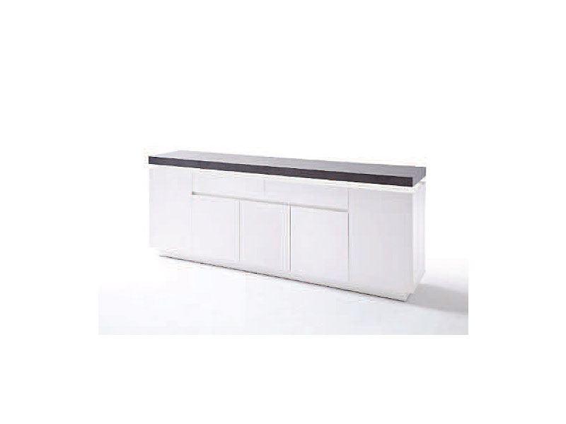Mca Furniture Atlanta Modernes Sideboard Weiss Matt Lackiert Inkl