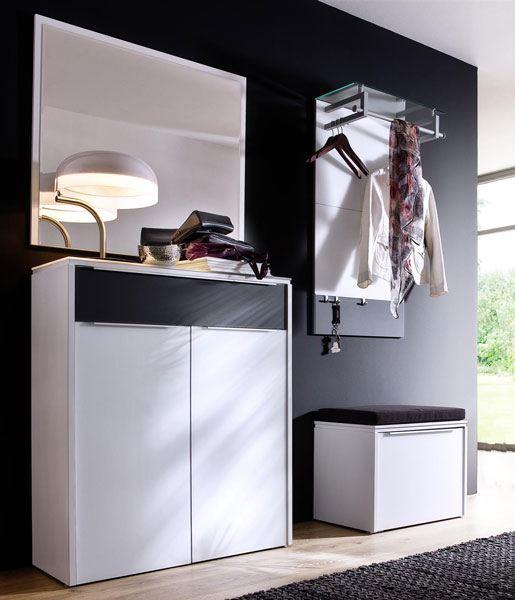 wittenbreder multi color gloss mehrzwckschrank mit spiegel und paneel. Black Bedroom Furniture Sets. Home Design Ideas
