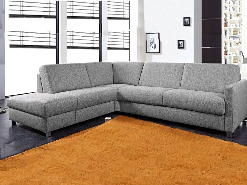 bali graues ecksofa messina mit schlaffunktion und stauraum. Black Bedroom Furniture Sets. Home Design Ideas