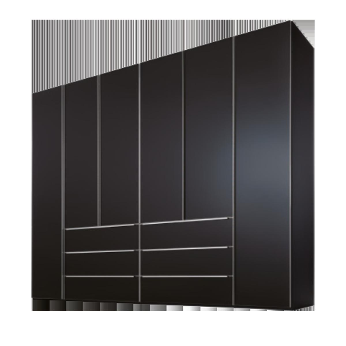 Nolte Möbel Marcato 2.1 Drehtürenschrank 6-türig mit 6 Schubkästen