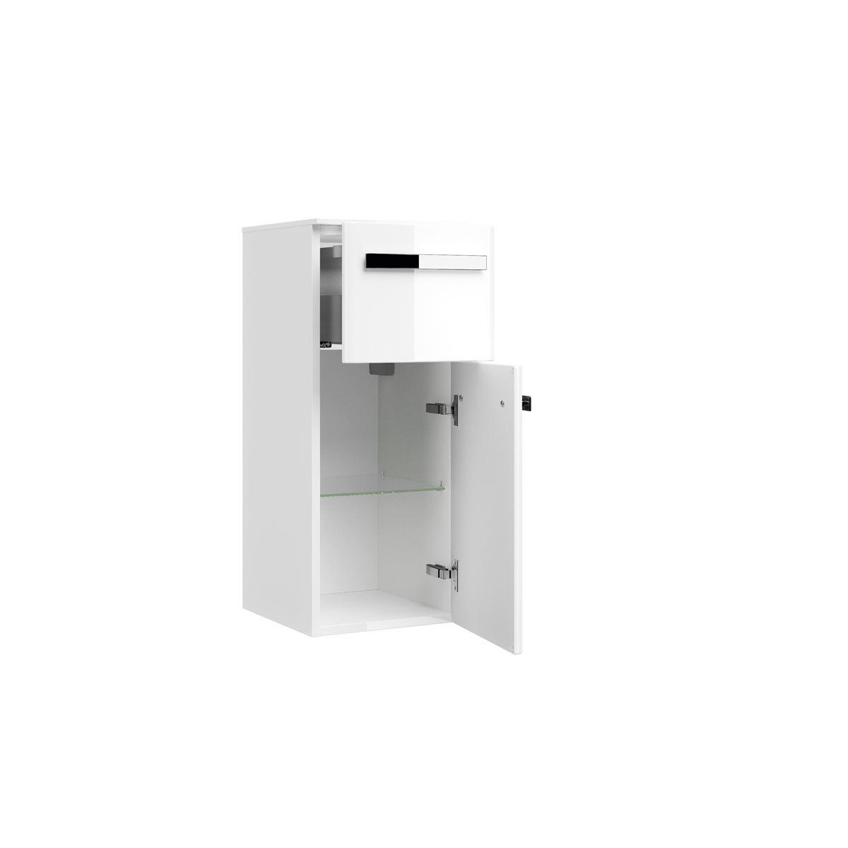 Pelipal Fokus 20 Highboard für Ihr Badezimmer in Hochglanz weiß