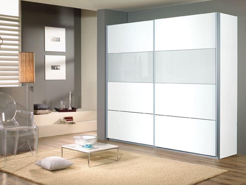 Kleiderschrank Quadra Von Rauch Schwebetürenschrank 2x Glasfelder