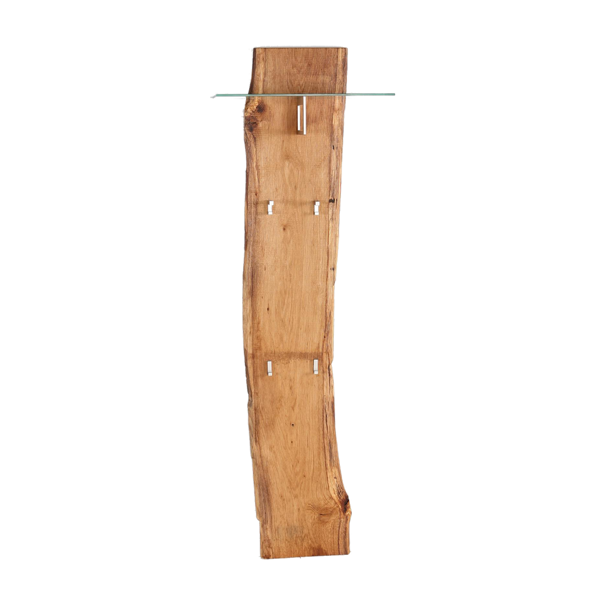skalik meble woodline garderobenpaneel mit glasplatte