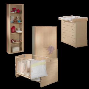 Kinderbett fleximo paidi spielbett mit griffleiter und kletterwand - Babyzimmer bruno ...