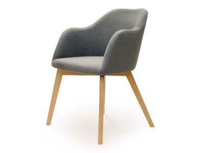 Standard Furniture Sessel Theo Mit 4 Fuss Spider Holz Gestell Polsterstuhl Fur