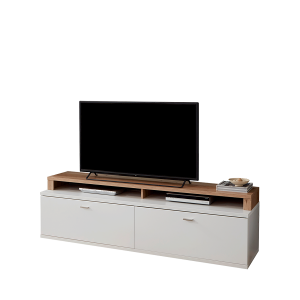 ideal mobel falan lowboard kombination bestehend aus unterteil type 32 und tv aufsatz