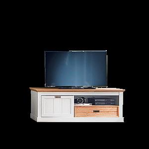 mca furniture cleveland lowboard t01 fur ihr wohnzimmer tv unterteil im landhausstil mit schubkasten fach