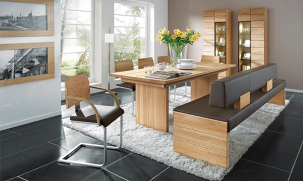 In Ihrem Neuen Esszimmer Von Voglauer Wird Eine Esskultur Mit Klarem Design  In Natürlichen Materialien Zelebriert