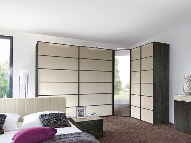 nolte attraction schwebet renschrank kleiderschrank i 29 in mooreiche nb w hlbar ebay. Black Bedroom Furniture Sets. Home Design Ideas