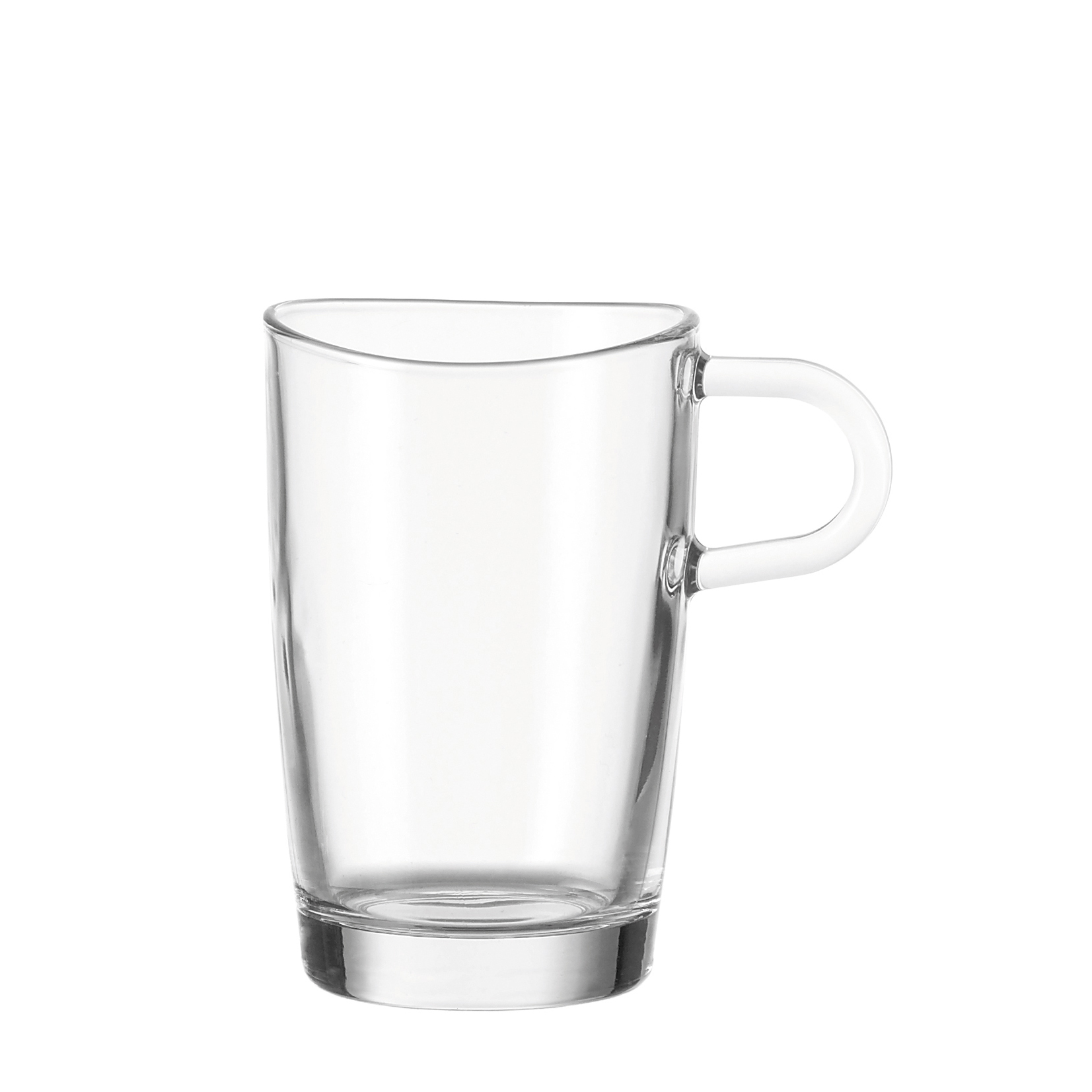leonardo loop becher set 6 teilig latte macchiato glas neu ebay. Black Bedroom Furniture Sets. Home Design Ideas