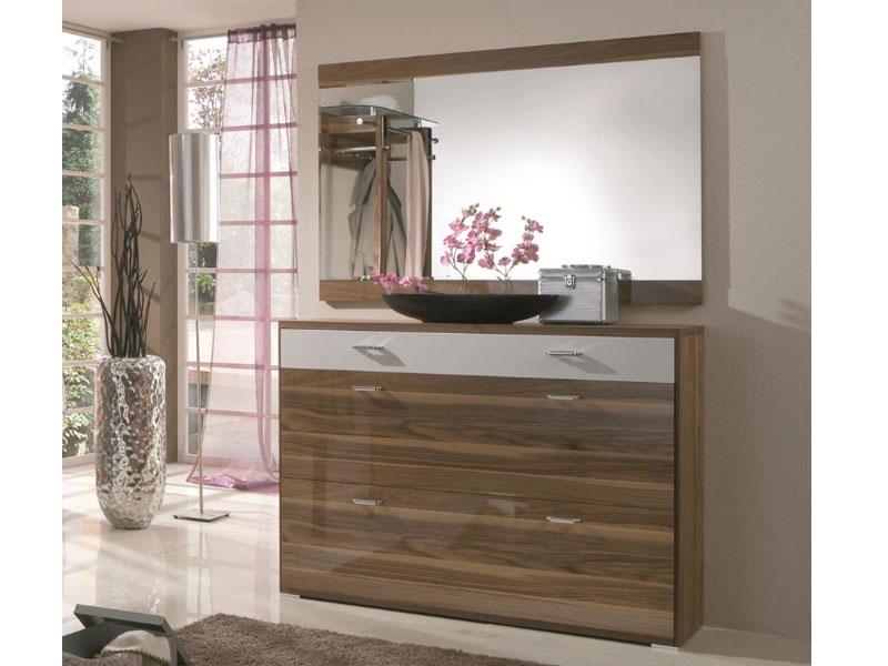 Wittenbreder woody plus schuhschrank flur garderobe - Schuhschrank mit spiegel ...