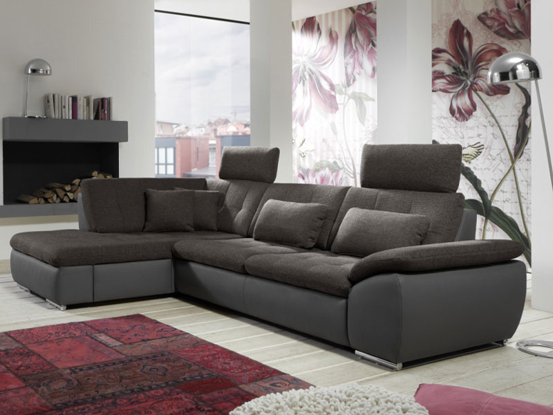 megapol flip ecksofa 3 sitzer 2 sitzer kombielement schubkasten stoffe w hlbar. Black Bedroom Furniture Sets. Home Design Ideas