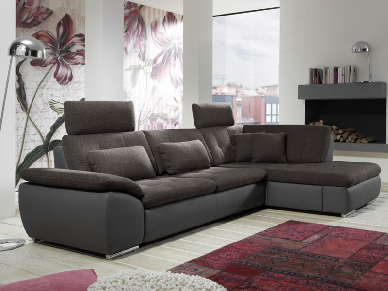 megapol flip ecksofa 3 sitzer 2 sitzer kombielement schubkasten stoffe w hlbar ebay. Black Bedroom Furniture Sets. Home Design Ideas