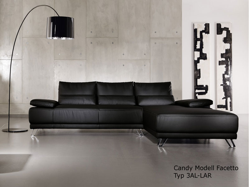 candy ecksofa facetto sofa 3 sitzer longchair polsterecke polsterm bel w hlbar ebay. Black Bedroom Furniture Sets. Home Design Ideas