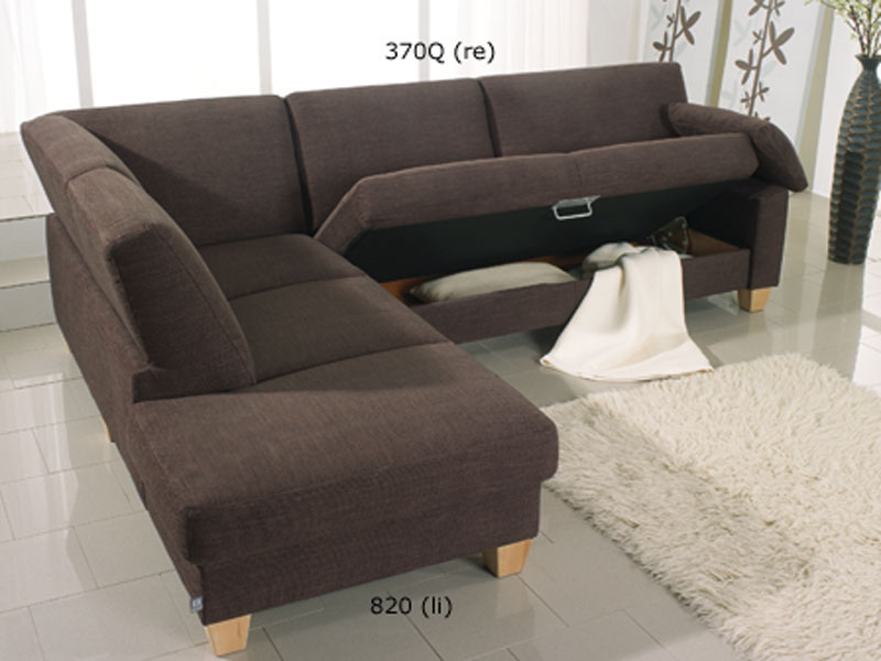 ewald schillig florenz ecksofa querschl fer 3 armlehne anbausofa mit hocker ebay. Black Bedroom Furniture Sets. Home Design Ideas