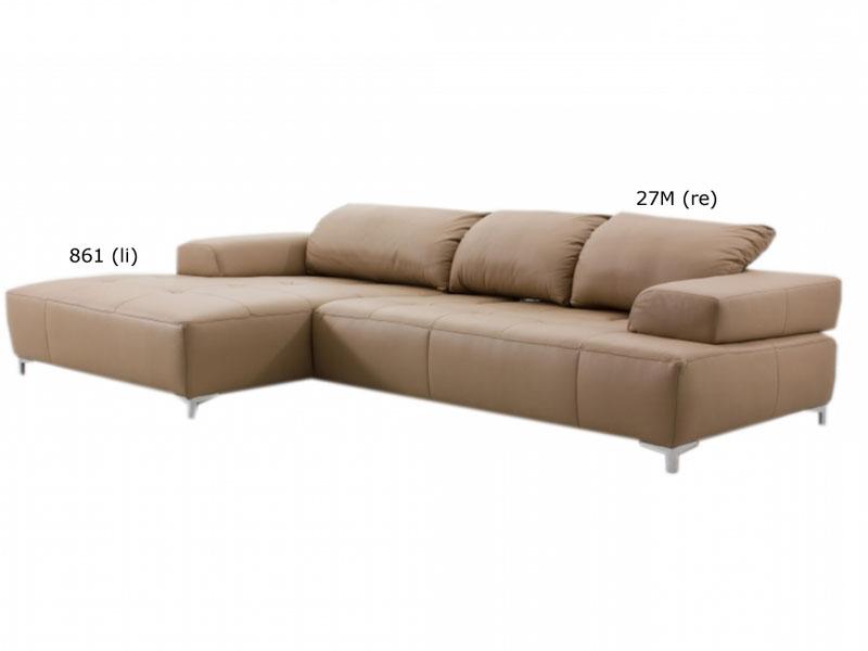 ewald schillig mega ecksofa sofa 2 sitzer clubchair armlehnen wohnzimmer top ebay. Black Bedroom Furniture Sets. Home Design Ideas
