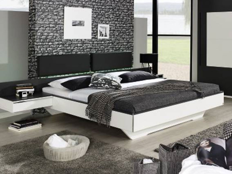 rauch bett colette dialog f r schlafzimmer mit paneel kopfteil w hlbar ebay. Black Bedroom Furniture Sets. Home Design Ideas