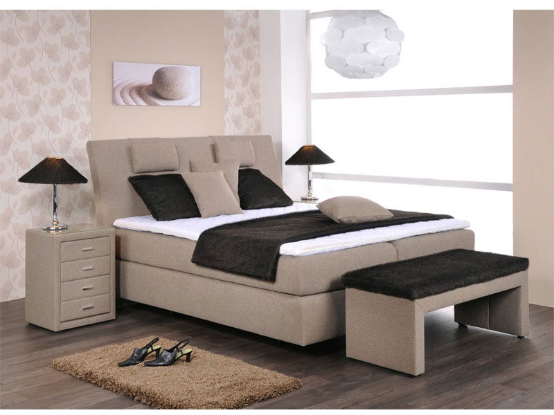 oschmann royal boxspringbett bett f r schlafzimmer gr e f sse stoff w hlbar neu. Black Bedroom Furniture Sets. Home Design Ideas