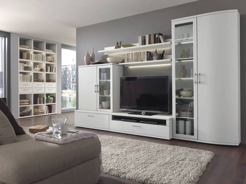 Wöstmann Design Celona 3000 Wohnwand Kombination 13 6tlg