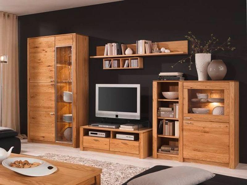 chalet möbel wohnzimmer:Kerkhoff Wohnwand Chalet 4-teilige Wohnzimmer Vorschlagskombination B1