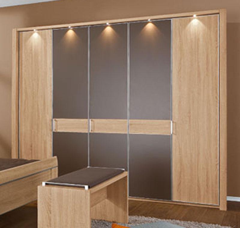 deht renschrank donna wiemann kleiderschrank absetzung w hlbar eiche s gerau nb ebay. Black Bedroom Furniture Sets. Home Design Ideas