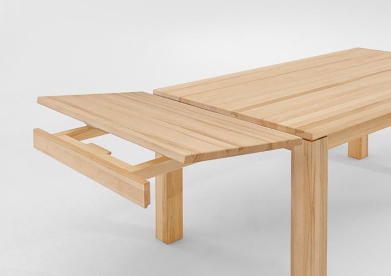 niehoff plantisch ma geschneidert esstisch massivholz leo ansteckplatte w hlbar ebay. Black Bedroom Furniture Sets. Home Design Ideas